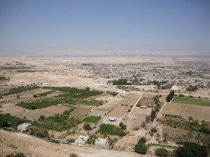 Jericho from Mount of Temptation