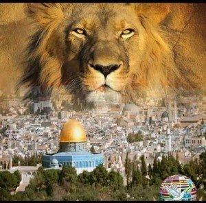 lion and jerusalem