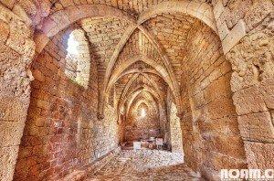 Entrance to ancient Caesarea. Photo: Noam Chen