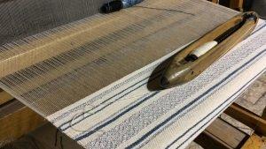 Weaving a Tallit